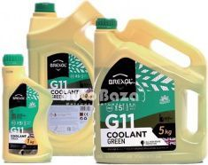 Фото Антифриз BREXOL G11 GREEN ANTIFREEZE (зеленый) (Бочка 214kg)