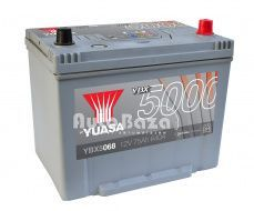 Фото Аккумулятор Yuasa 12V 75Ah Silver High Performance Battery Japan YBX5068 (0)